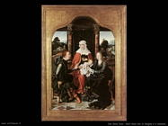 Van Cleve Joos Sant'Anna con la Vergine ed il Bambino