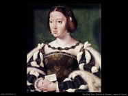 Van Cleve Joos Ritratto di Eleonora Regina di Francia