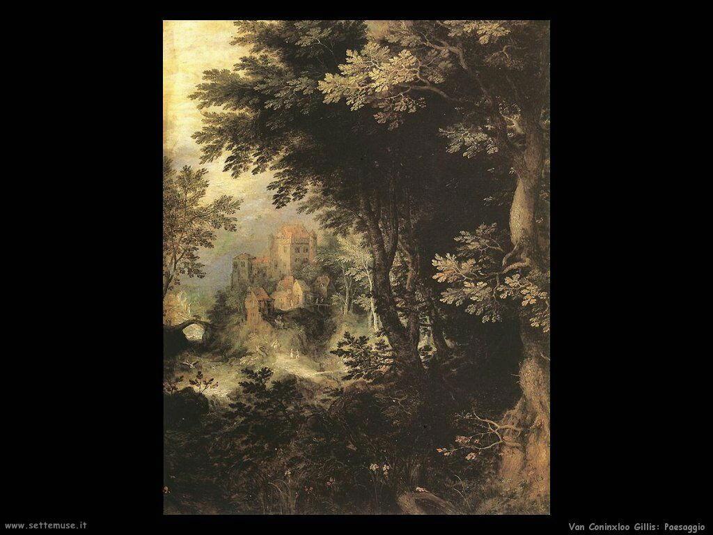 Van Coninxloo Gillis Paesaggio