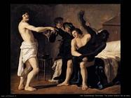 Van Couwenbergh Christiaen Tre giovani bianchi e un nero