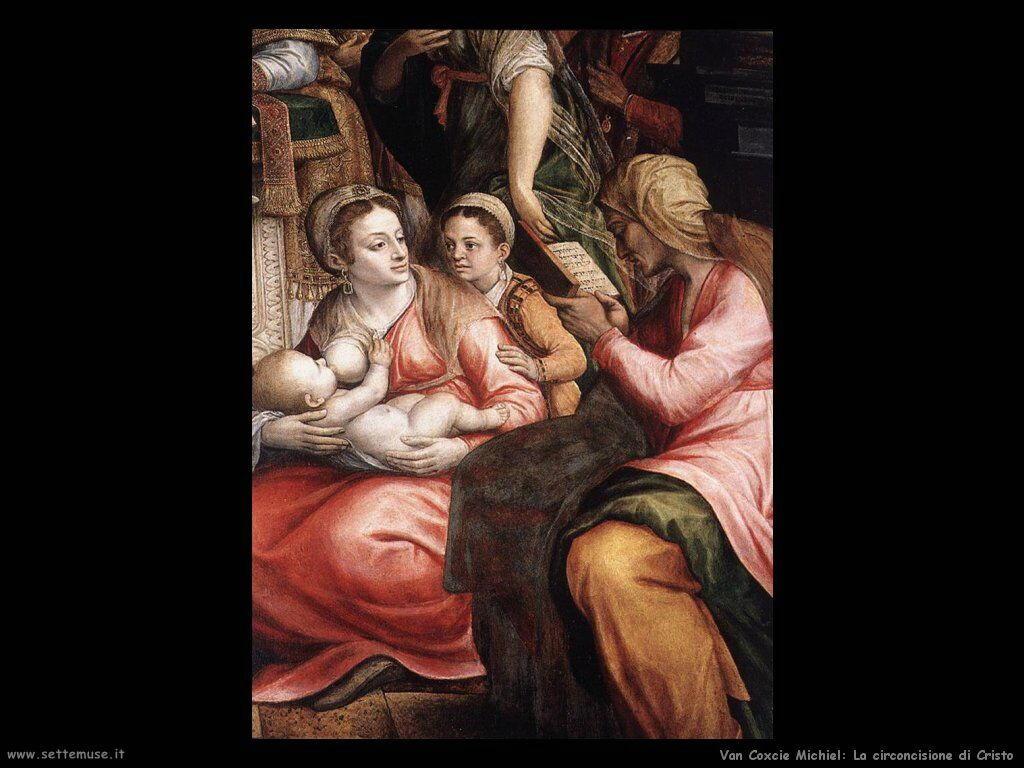 Van Coxcie Michiel La circoncisione di Cristo