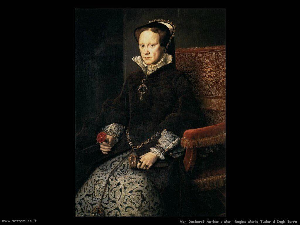 Van Dashorst Anthonis Mor Mary Tudor Regina d'Inghilterra