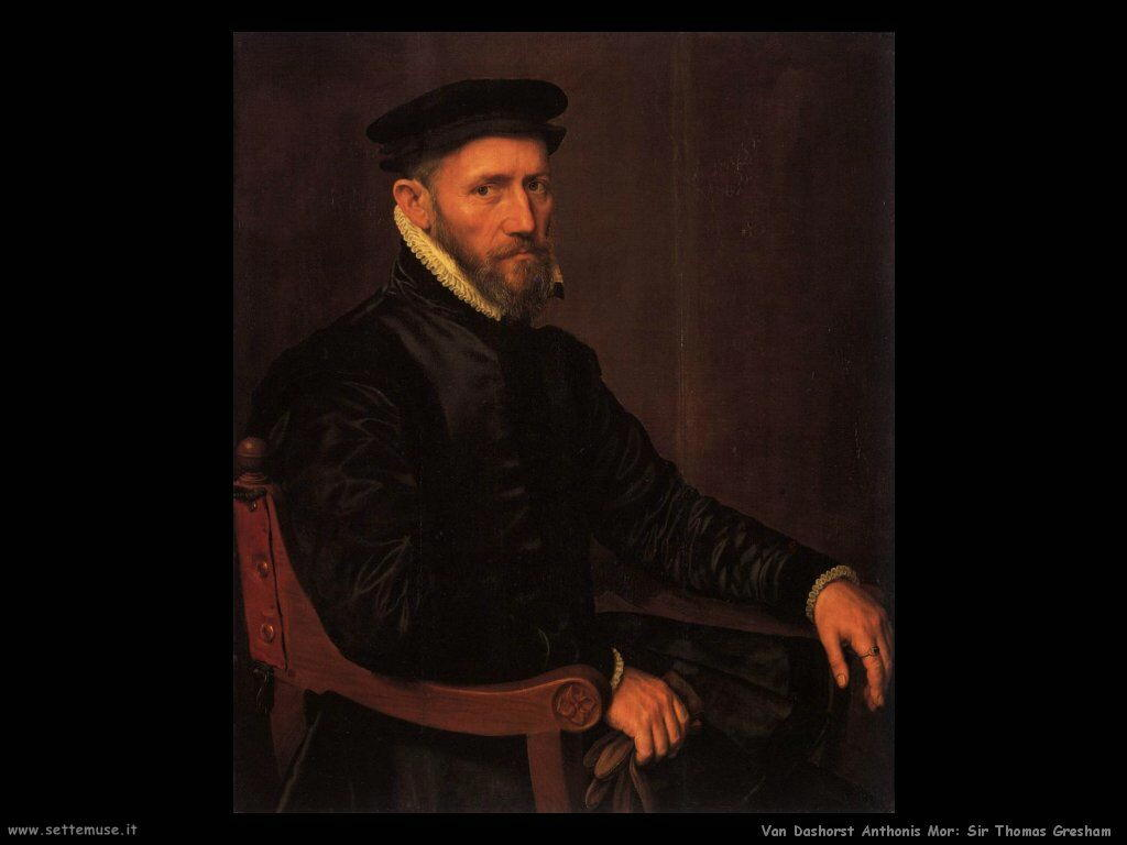 Van Dashorst Anthonis Mor Sir Thomas Gresham