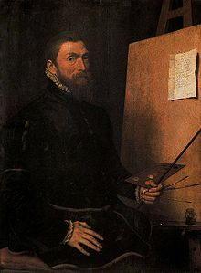 Autoritratto di Van Dashorst Anthonis Mor