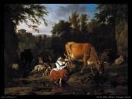 Van De Velde Adriaen Un paesaggio classico