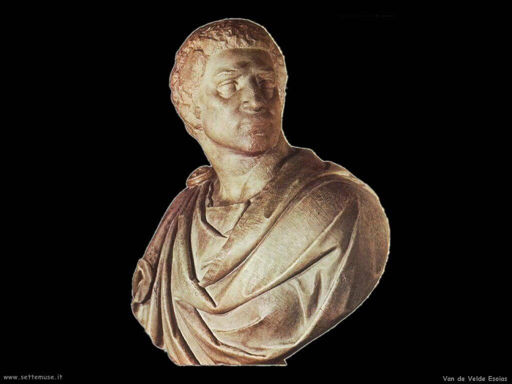 Van De Velde Esaias Busto