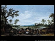 Van De Velde Esaias Banditi attaccano una carovana