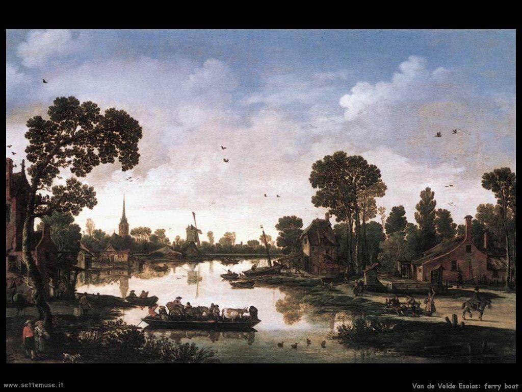 Van De Velde Esaias Ferry Boat
