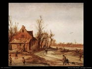 Van De Velde Esaias Paesaggio invernale