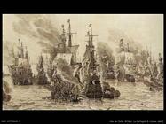Velde Willem the Younger Dettaglio della Battaglia di Livorno