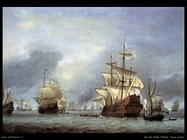 Velde Willem the Younger La conquista della nave del principe reale inglese