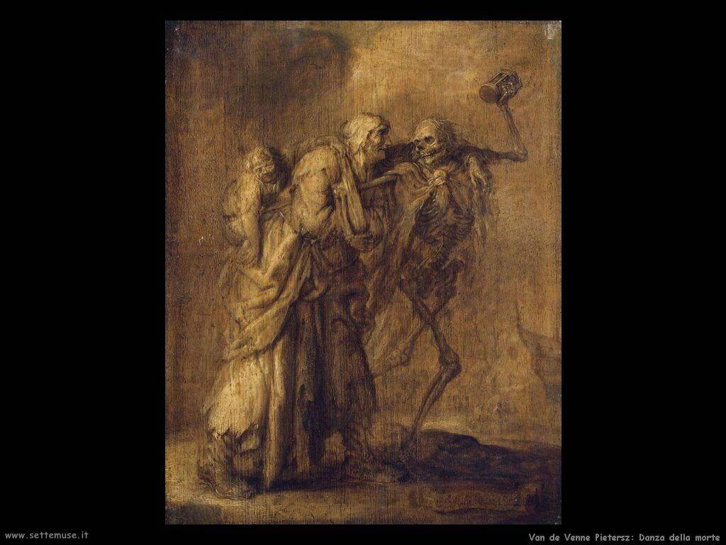 Van De Venne Pietersz La danza della morte
