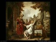 Van Den Eeckhout Gerbrand Abramo ed i tre Angeli