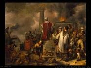 Van Den Eeckhout Gerbrand Geroboamo ed il sacrificio a Bethel