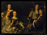 Van Den Tempel Abraham Ritratto di famiglia
