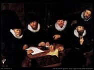 Van Den Werner Jacobsz Cinque reggenti della grande famiglia Kramergild
