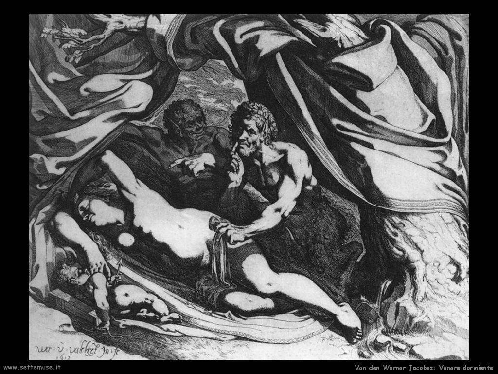 Van Den Werner Jacobsz Venere dormiente