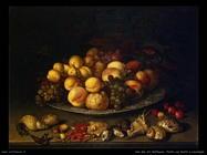 Piatto con frutta e conchiglie Van Der Ast Balthasar