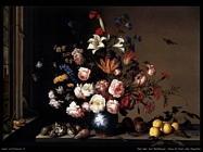 Vaso di fiori vicino ad una finestra Van Der Ast Balthasar