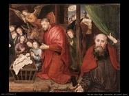 Adorazione dei pastori Van Der Goes Hugo