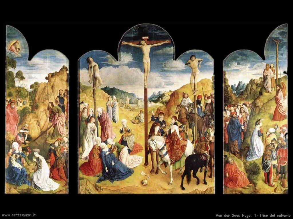 VAN DER GOES HUGO pittore biografia foto quadri sfondi opere ...