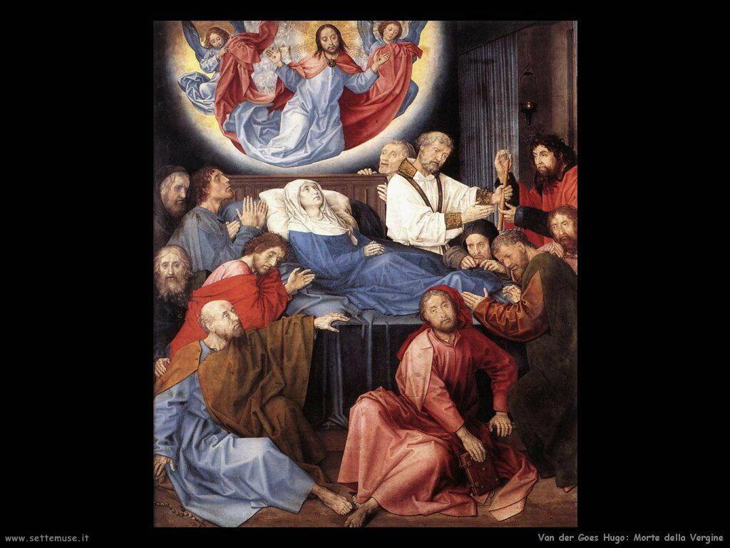 La morte della Vergine Van Der Goes Hugo