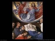La morte della Vergine (particolare) Van Der Goes Hugo