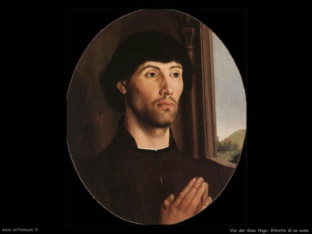 Ritratto di un uomo Van Der Goes Hugo