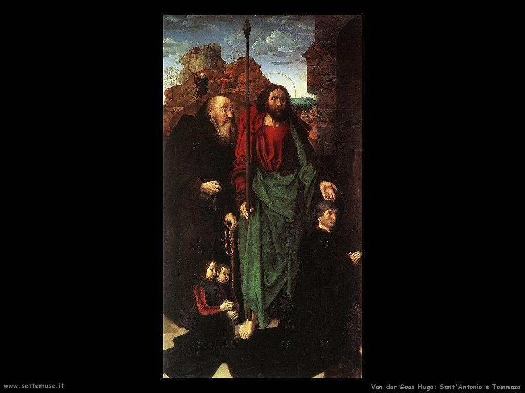 Trittico Portinari (Particolare) Van Der Goes Hugo