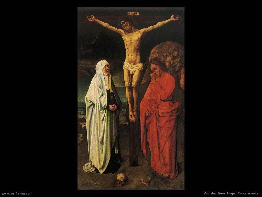 Crocifissione Van Der Goes Hugo