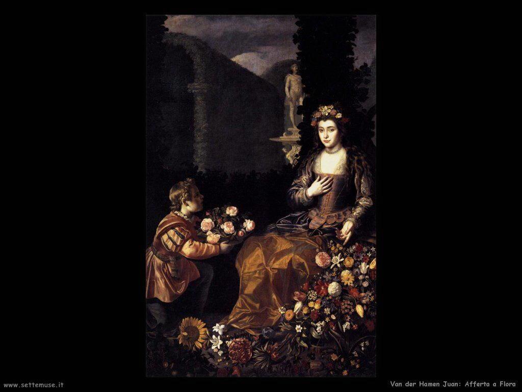 Van der Hamen Juan Offerta di fiori