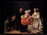 Van der Helst Bartholomeus Pieter Van de Venne e figlia