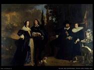 Van der Helst Bartholomeus Ritratto della famiglia Helst