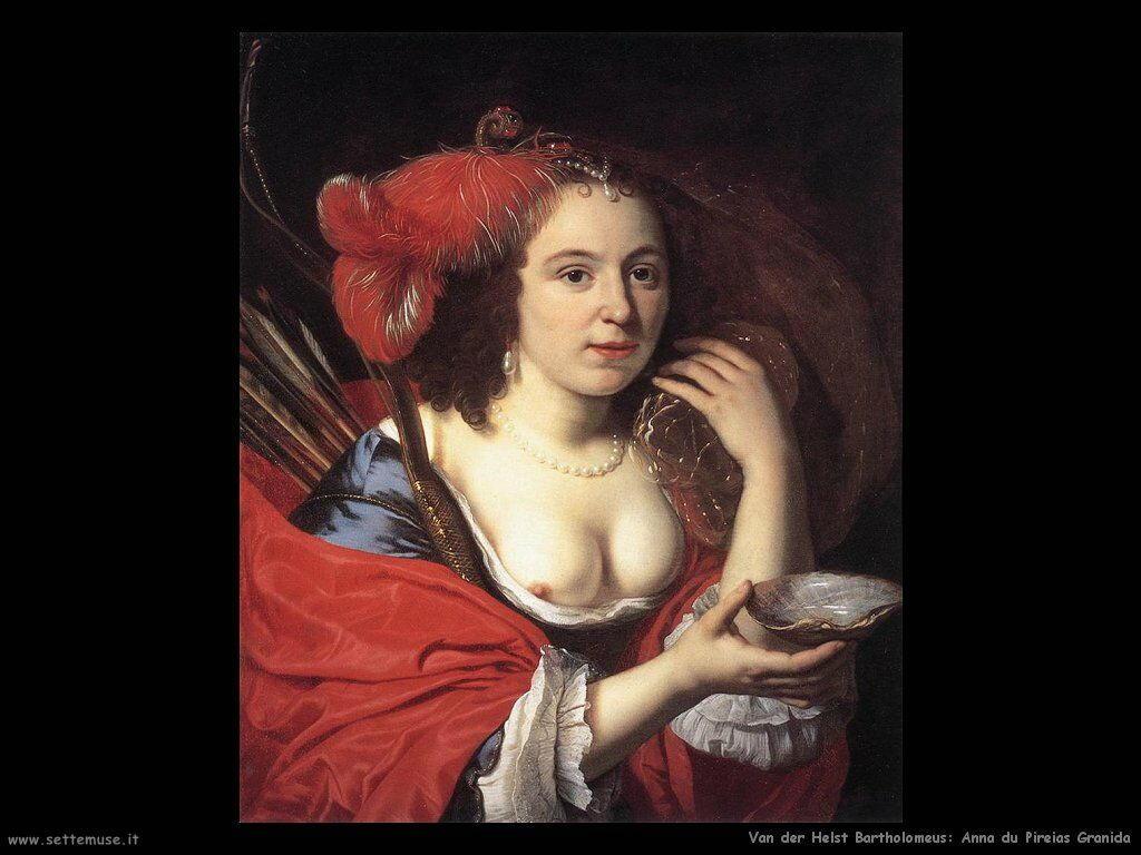Van der Helst Bartholomeus Anna du Pire as Granida