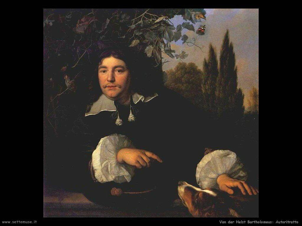 Van der Helst Bartholomeus Autoritratto