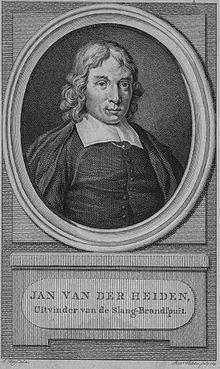Autoritratto di Jan van der Heyden