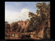 Vista sul canale Herengracht ad Amsterdam Van Der Heyden Jan