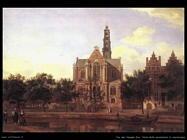 Vista della Westerkerk  Van Der Heyden Jan