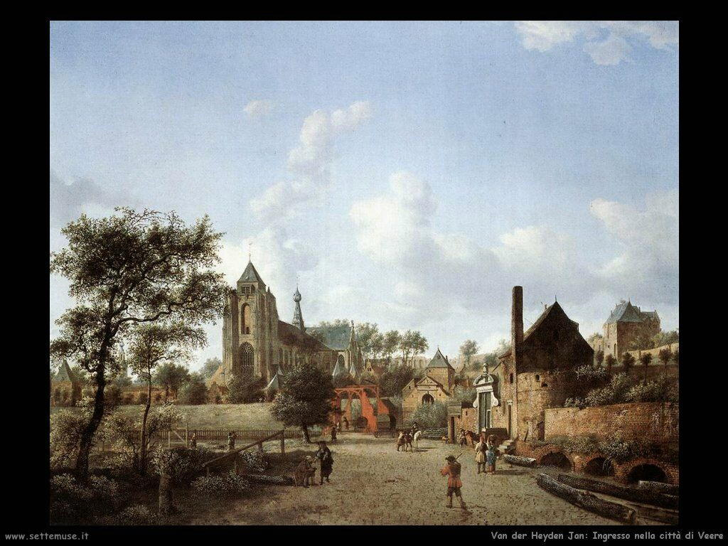 Dintorni della città di Veere Van Der Heyden Jan