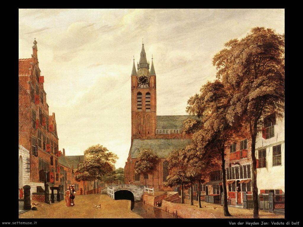 Vista di Delft Van Der Heyden Jan