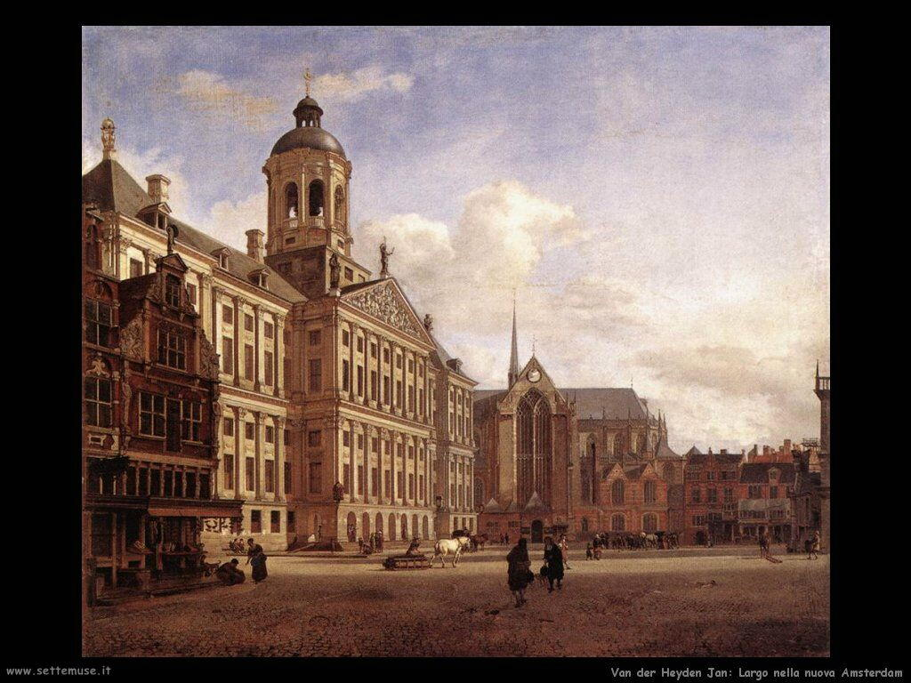 Van Der Heyden Jan Il nuovo Municipio di Amsterdam