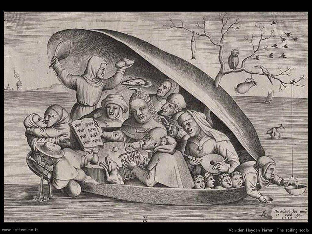 Van der Heyden Pieter Sailing Scale