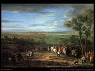 Van der Meulen Frans Luigi XVI arriva al campo