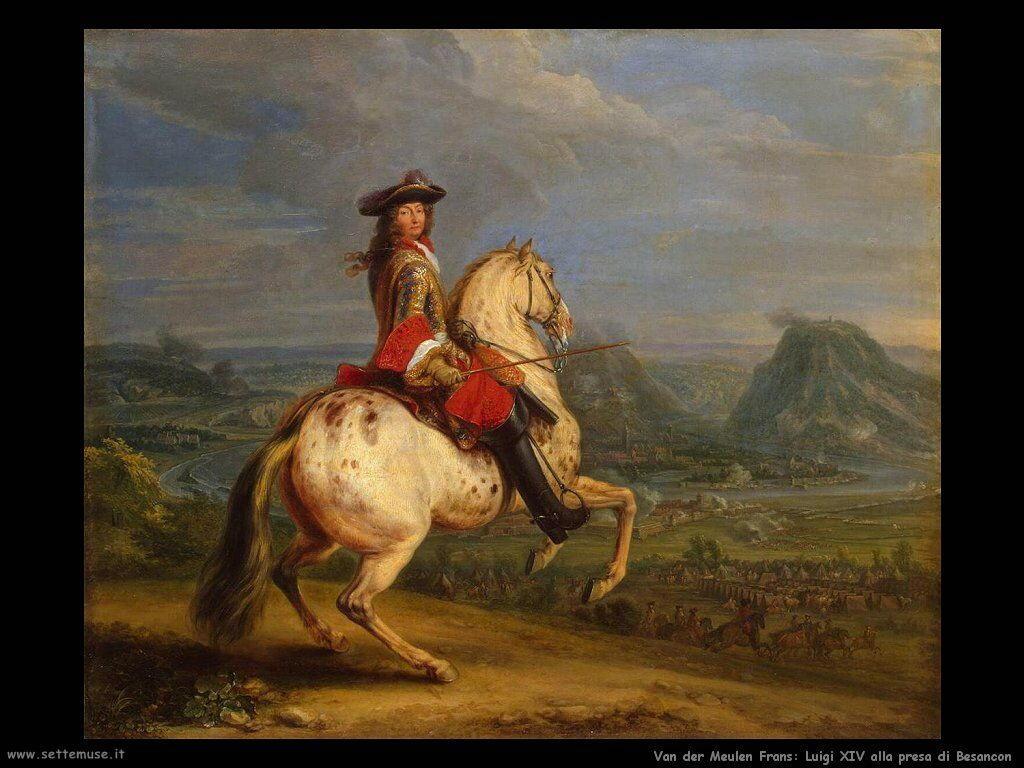 Van der Meulen Frans Luigi XVI alla presa di Besancon