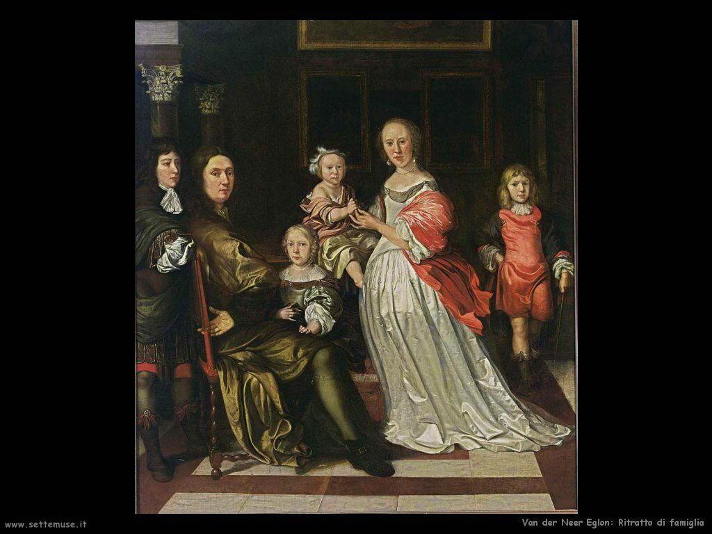 Ritratto di famiglia Van der Neer Eglon