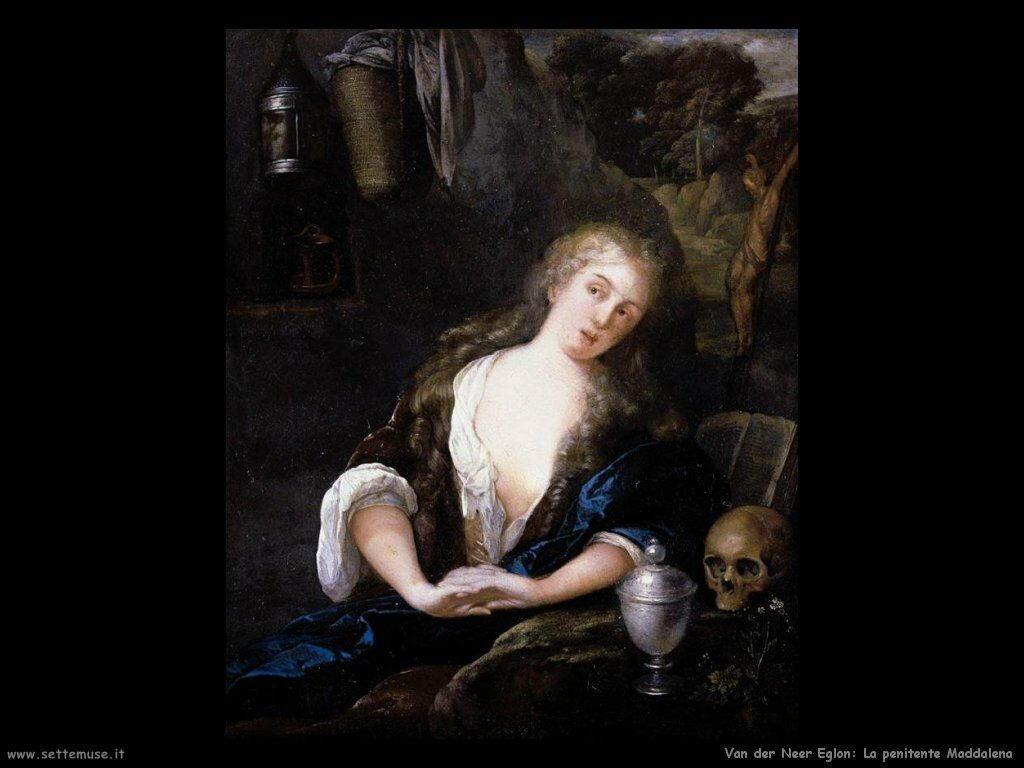La Maddalena penitente Van der Neer Eglon