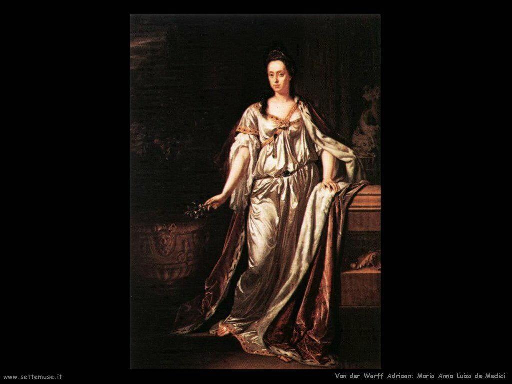 Anna Maria Luisa de Medici Van Der Werff Adriaen
