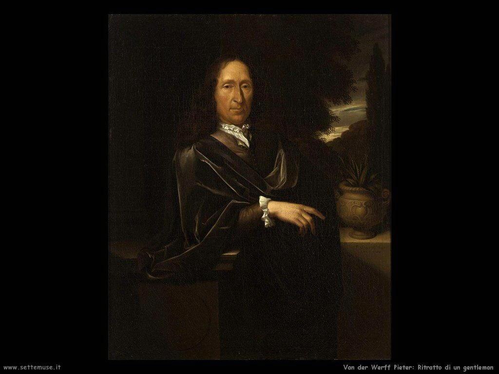 Van der Werff Pieter Ritratto di gentiluomo
