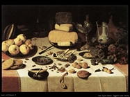 Van Dijck Floris Claesz Oggetti sulla tavola