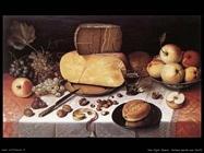 Van Dijck Floris Claesz Natura morta con frutta